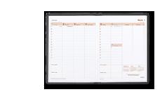 Panorama Tischkalender