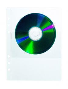 A5 Klarsichthülle für 2 CDs