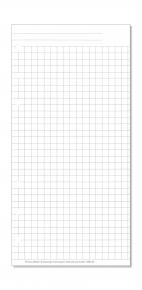 Compact Formblatt Kariertes Papier
