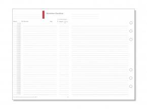 A5 Formblatt Aktivitäten-Checkliste