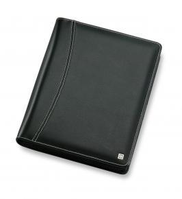 A5 Ringbuch Montana mit Reißverschluss (schwarz) 35 mm