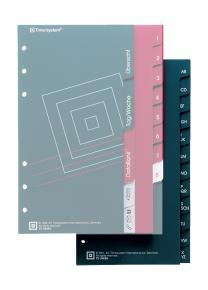 Compact Telefon-/Adressregister, 6-teilig