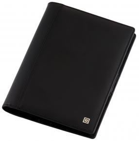 Ledereinband Klassik für Notiz- und Meetingbuch
