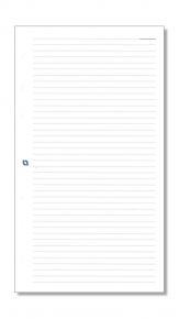 Notizpapier liniert weiß für Junior-/Partner-Systeme