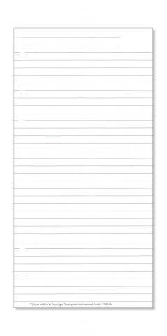 Compact Formblatt Liniertes Papier