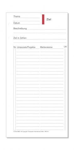 Compact Formblatt Ziele