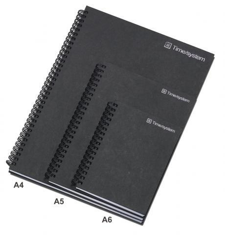 time-system-notizblock-kariertes-papier