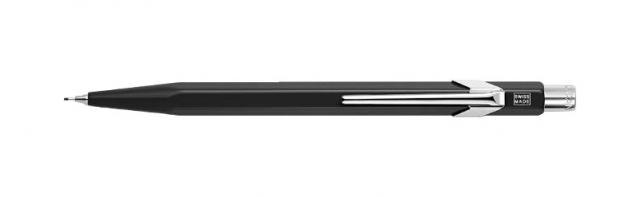 Metall-Druckbleistift (schwarz)