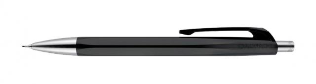Druckbleistift aus Kunststoff (schwarz)