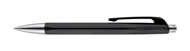 caran-d-ache-kugelschreiber-infinite-aus-kunststoff-schwarz-, 5.31 EUR @ quantis