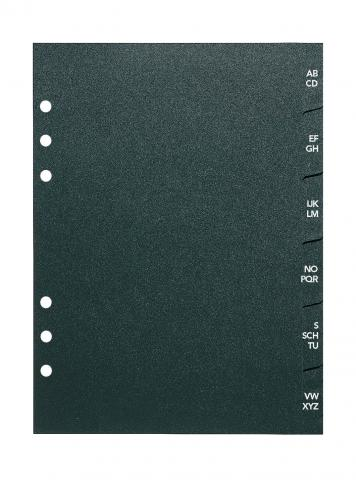 A5 Telefon-/Adress-Register A-Z,  6-teilig