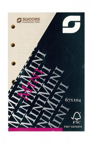 Kalendarium Mini 2020 Wochenplanung, 4-sprachig, creme