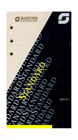 Kalendarium Standard 2021 Wochenplanung, 4-sprachig, creme