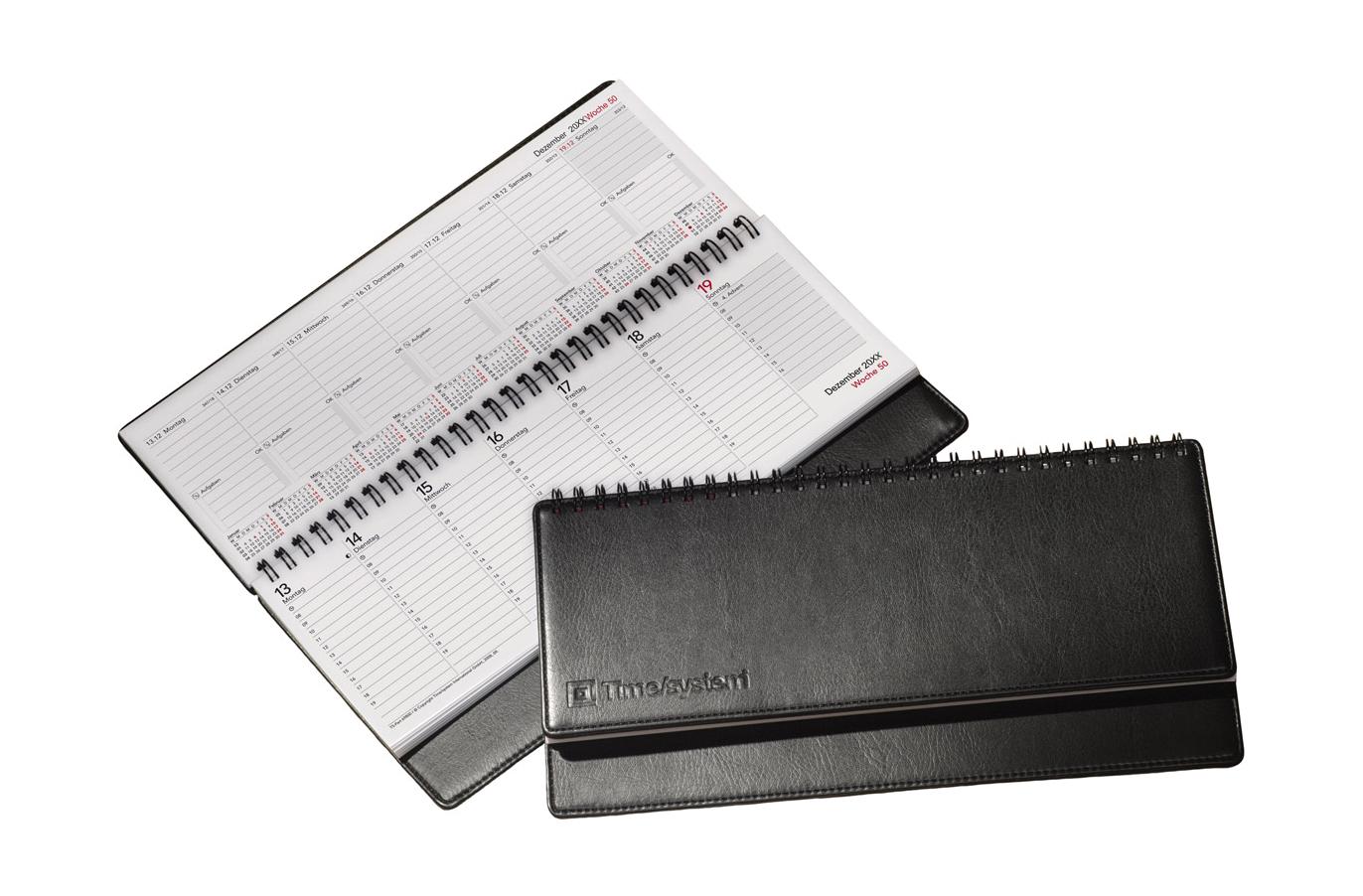 time system memory tischkalender 2017 schwarz. Black Bedroom Furniture Sets. Home Design Ideas